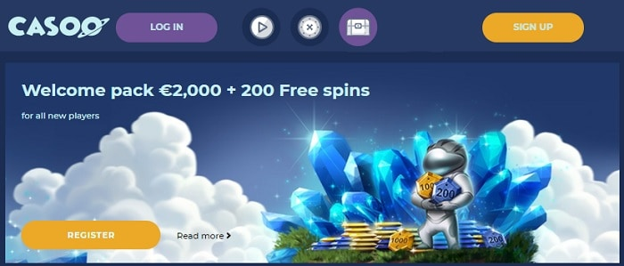 Sign Up Bonus and Free Spins