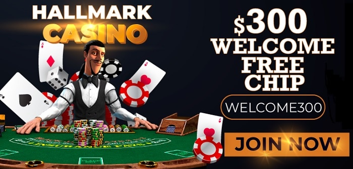 Hallmark 300 free chip