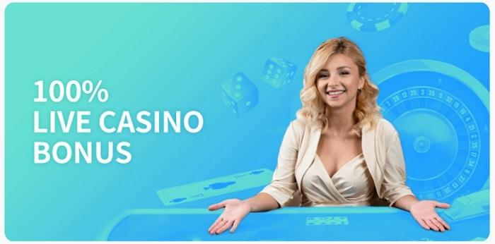 100% Live Casino